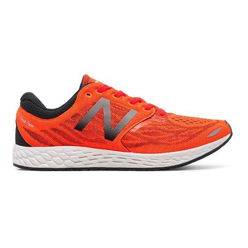 Mens New Balance Fresh Foam Zante v3 Running Shoe - Orange/Grey 12