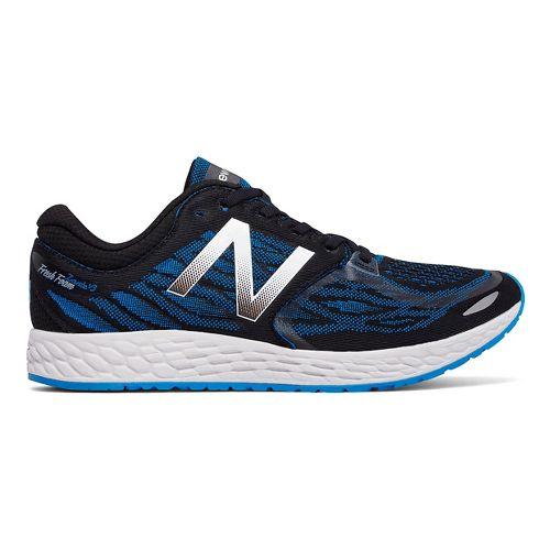 Mens New Balance Fresh Foam Zante v3 Running Shoe - Black/Blue 14