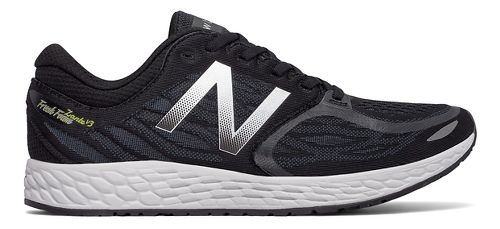 Mens New Balance Fresh Foam Zante v3 Running Shoe - Black/Thunder 10