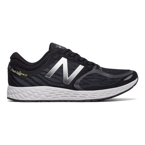 Mens New Balance Fresh Foam Zante v3 Running Shoe - Black/Thunder 11