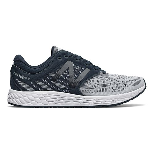 Womens New Balance Fresh Foam Zante v3 Running Shoe - Grey/White 5.5