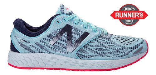 Womens New Balance Fresh Foam Zante v3 Running Shoe - Mint 9.5