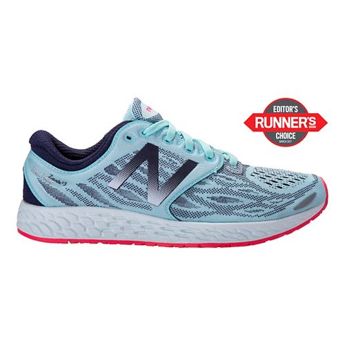 Womens New Balance Fresh Foam Zante v3 Running Shoe - Mint 9