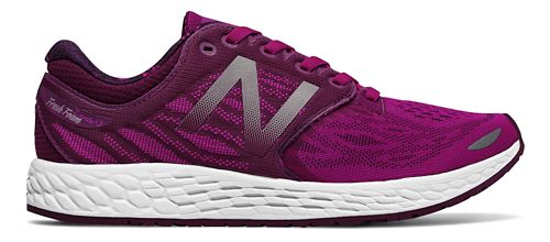 Womens New Balance Fresh Foam Zante v3 Running Shoe - Purple/White 10.5