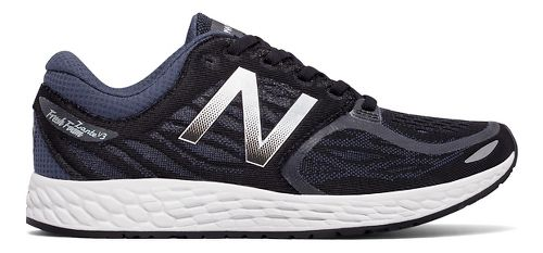 Womens New Balance Fresh Foam Zante v3 Running Shoe - Black/Thunder 11