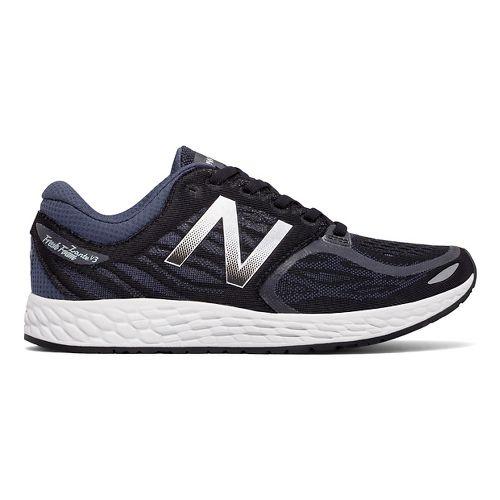 Womens New Balance Fresh Foam Zante v3 Running Shoe - Black/Thunder 10