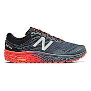 Mens New Balance Fresh Foam Hierro v2 Trail Running Shoe - Green/Black 10.5