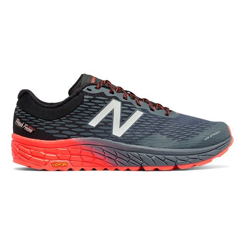 Mens New Balance Fresh Foam Hierro v2 Trail Running Shoe - Green/Black 12.5