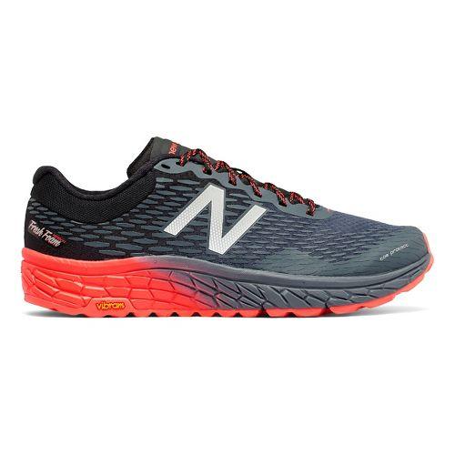Mens New Balance Fresh Foam Hierro v2 Trail Running Shoe - Green/Black 14
