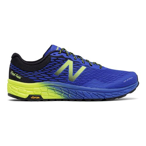 Mens New Balance Fresh Foam Hierro v2 Trail Running Shoe - Electric Blue 7