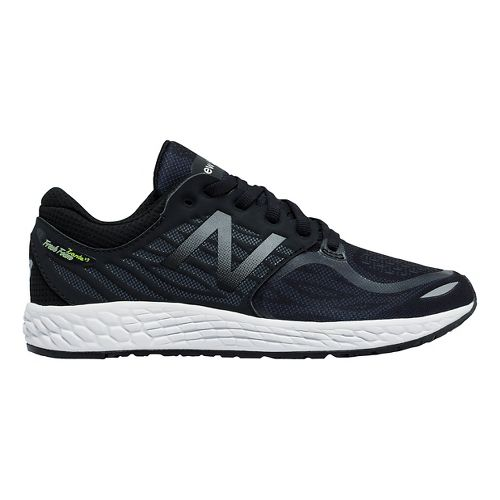 Kids New Balance Fresh Foam Zante v3 Running Shoe - Black/Black 4Y