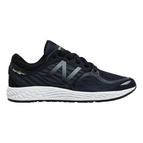 Kids New Balance Fresh Foam Zante v3 Running Shoe - Black/Black 5.5Y