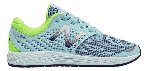 Kids New Balance Fresh Foam Zante v3 Running Shoe - Teal/Green 4Y