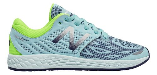 Kids New Balance Fresh Foam Zante v3 Running Shoe - Teal/Green 7Y