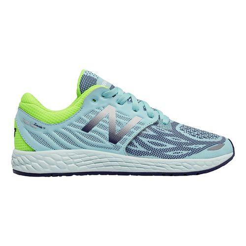 Kids New Balance Fresh Foam Zante v3 Running Shoe - Teal/Green 3.5Y
