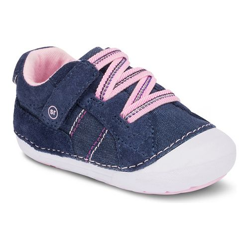 Kids Stride Rite SM Skyler Casual Shoe - Navy 3.5C