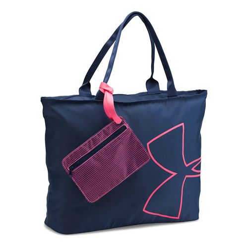 Womens Under Armour Big Logo Tote Bags - Midnight Navy