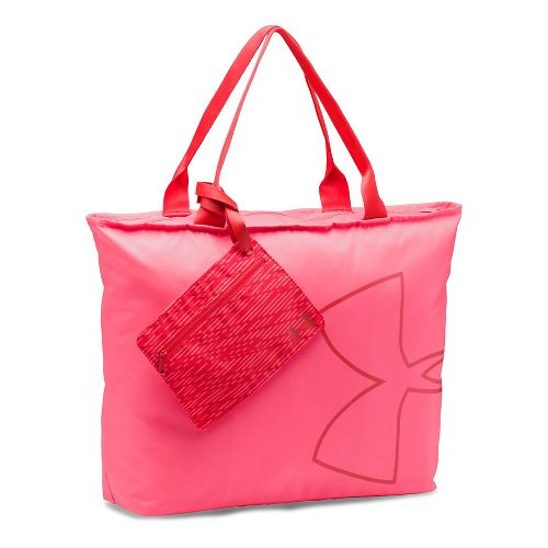 Womens Under Armour Big Logo Tote Bags - Pink/Pomegranate