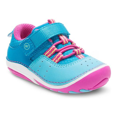 Stride Rite Girls SM Ines Casual Shoe - Turquoise 3.5C