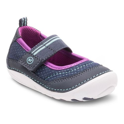 Kids Stride Rite SM Gwyn Casual Shoe - Navy 5.5C