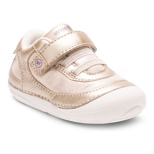 Stride Rite Girls SM Jazzy Casual Shoe - Gold 3C