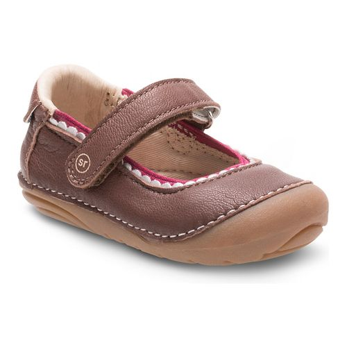 Stride Rite Girls SM Savanah Casual Shoe - Brown 3.5C