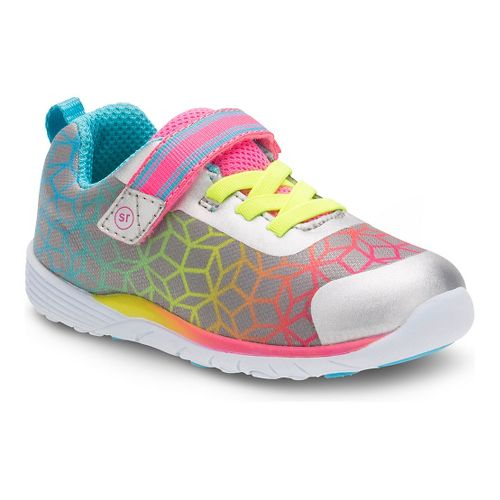 Stride Rite Girls Dree Casual Shoe - Silver/Multi 5.5C