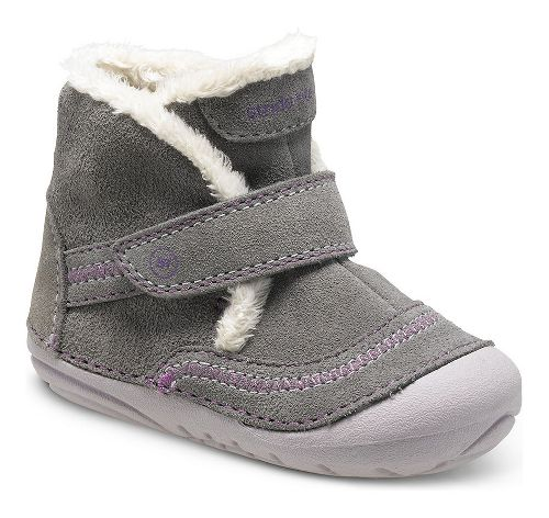 Kids Stride Rite SM Constance Casual Shoe - Grey 4C