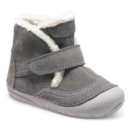 Stride Rite Girls SM Constance Casual Shoe - Grey 5C