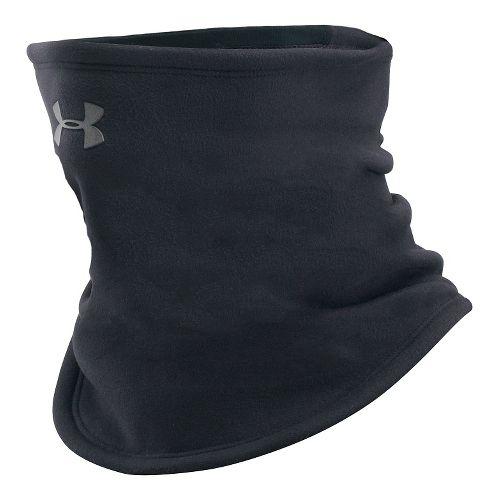 Womens Under Armour Elements Fleece Gaiter Headwear - Black