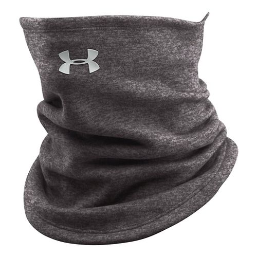 Womens Under Armour Elements Fleece Gaiter Headwear - Charcoal/Light Grey