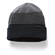 Mens Under Armour 4-in-1 Beanie Headwear - Black/Graphite