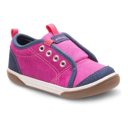 Stride Rite Girls Taasi Casual Shoe - Magenta/Navy 8C
