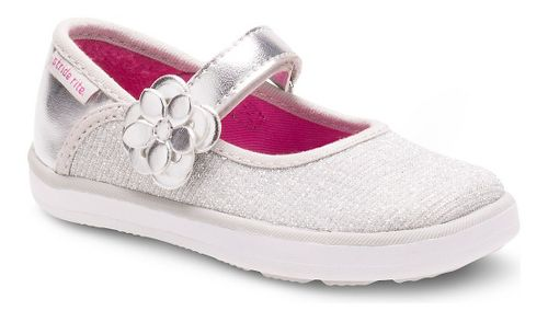 Kids Stride Rite Marleigh Casual Shoe - Silver 7C
