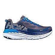 Mens Hoka One One Bondi 5 Running Shoe - Grey/Blue 13