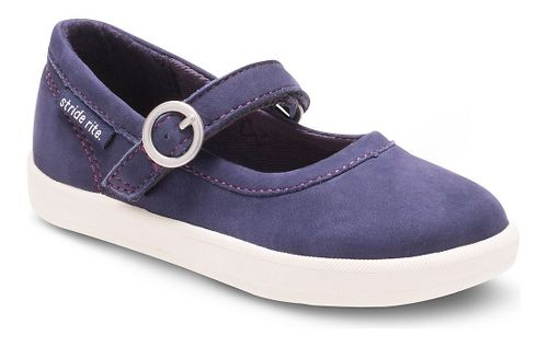 Kids Stride Rite Simone Casual Shoe - Navy 11C