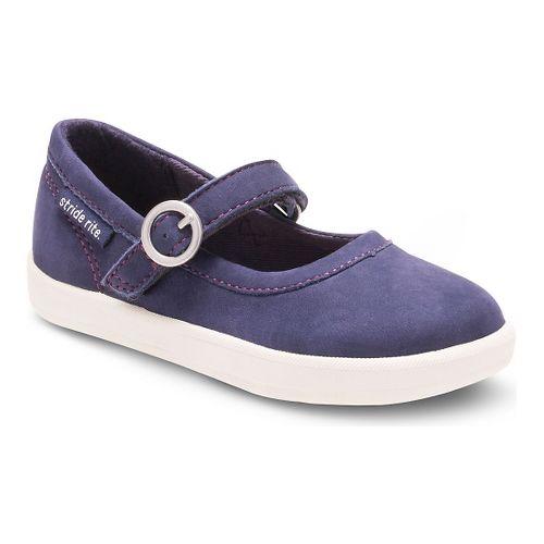 Kids Stride Rite Simone Casual Shoe - Navy 6C