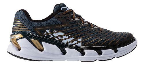 Mens Hoka One One Vanquish 3 Running Shoe - Navy/Gold 10
