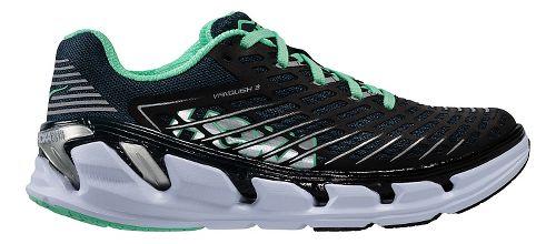 Womens Hoka One One Vanquish 3 Running Shoe - Navy/Mint 10