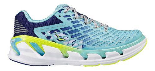 Womens Hoka One One Vanquish 3 Running Shoe - Navy/Mint 7