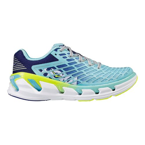 Womens Hoka One One Vanquish 3 Running Shoe - Blue/Coral 8