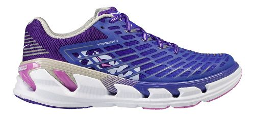 Womens Hoka One One Vanquish 3 Running Shoe - Grape/Pink 9.5