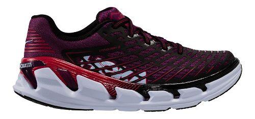Womens Hoka One One Vanquish 3 Running Shoe - Grape/Pink 7.5