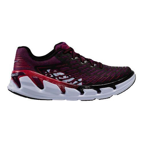 Womens Hoka One One Vanquish 3 Running Shoe - Grape/Pink 5