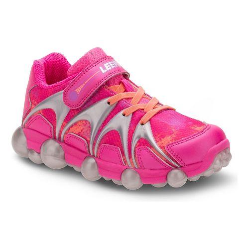 Stride Rite Leepz Running Shoe - Blue/Citron/Pink 2Y