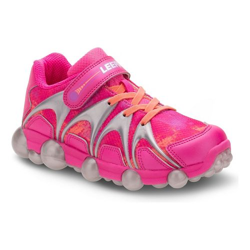 Kids Stride Rite Leepz Running Shoe - Blue/Citron/Pink 10C
