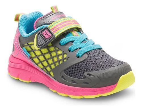 Stride Rite M2P Cannan Running Shoe - Pink/Grey 4.5C