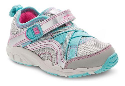 Kids Stride Rite M2P Serena Running Shoe - Silver/Blue 2.5Y