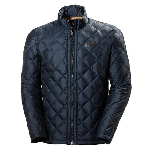 Mens Helly Hansen Oslo Down Cold Weather Jackets - Navy L