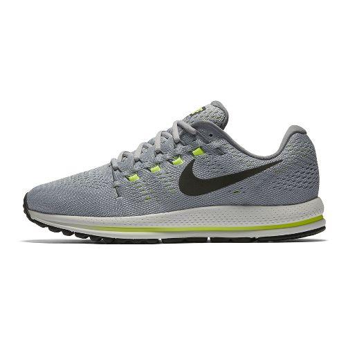 Mens Nike Air Zoom Vomero 12 Running Shoe - White/Black 11.5